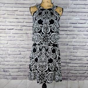 White House Black Market Paisley Dress